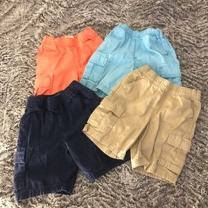 🍁Bundle of 3T Cargo Shorts -The Children's Place